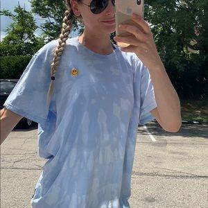 Bleach tie dye t shirt